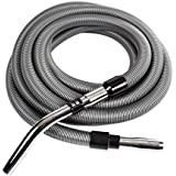 Cen-Tec Systems 91464 Crushproof 50 Foot Vacuum Hose, Silver