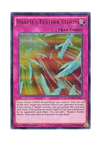 HARPIE/'S FEATHER STORM ULTRA RARE 1ST EDITION NEW 3 x DUSA-EN027