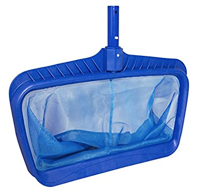 Professional Heavy Duty Deep-Bag Pool Rake, Blue