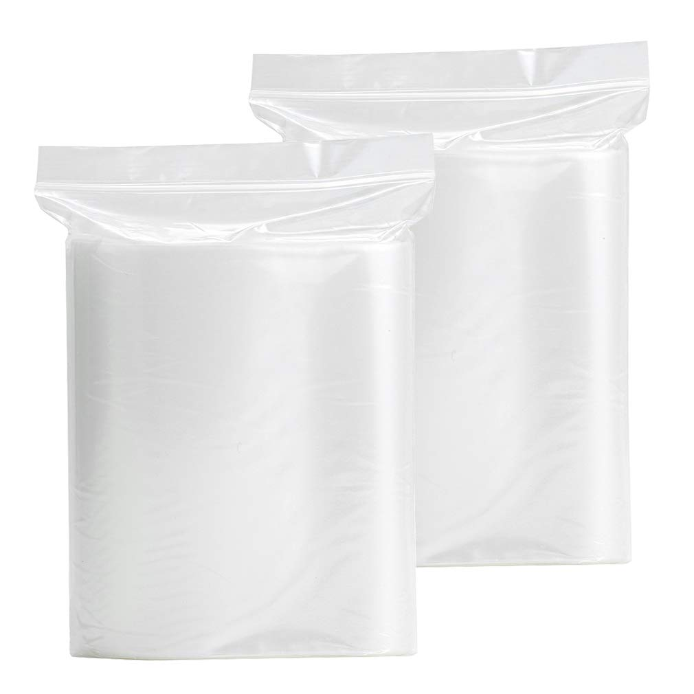 FieldTulip 200 Pack Thick Ziplock Bags 5.5