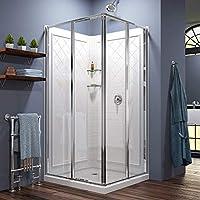 Juntas de caja de ducha, SS SHOVAN 2 Piezas 100cm Junta para ...