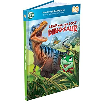 LeapFrog Tag Book, Leap and the Lost Dinosaur : Baby Toys : Baby