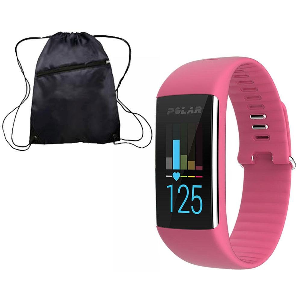 Polar 90057435K A360 Fitness Monitor Pink Small with bag