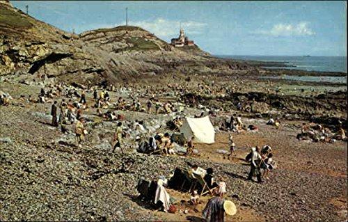 Bracelet Bay and Mumbles Head Swansea, Wales Original Vintage Postcard