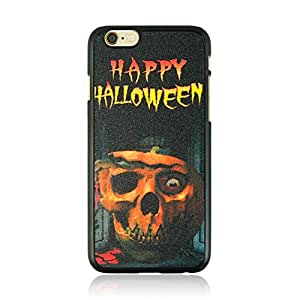 4.7inch Cool Halloween Pumpkin Skeleton Pattern Protective Shell Sleeve Skin Case Cover For iPhone 6