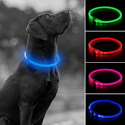 Rechargeable Flashing Resistant Necklaces Nighttime