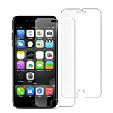 #6: [2 Pack] iPhone 7 Screen Protector, iPhone 8 Screen Portector, Tempered Glass Screen Protector Support iPhone 8, iPhone 7 (4.7'' inch)