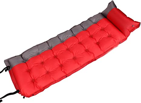 2 personnes extérieur auto gonflant coussin de couchage sans oreiller Camping tente tapis voyage tapis étanche à l'humidité 3 cm 4 cm