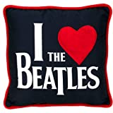 """The Beatles """"I love The Beatles"""" 14"""" Deco Pillow"""