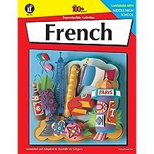 Carson Dellosa   The 100 Series: French Workbook   Grades 6-12, 128pgs
