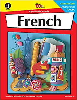 Amazon com: French, Grades 6 - 12: Middle / High School (The