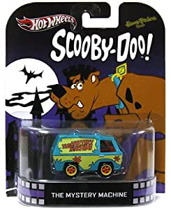 hot wheels retro entertainment scooby doo mystery machine toys games. Black Bedroom Furniture Sets. Home Design Ideas