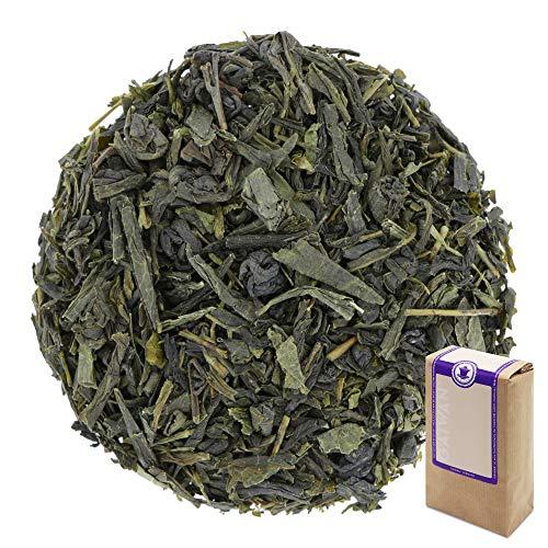 Num 1291 Te verde organico Earl Grey verde - hojas sueltas ecologico - 250 g - GAIWAN GERMANY - sencha verde, polvora de China