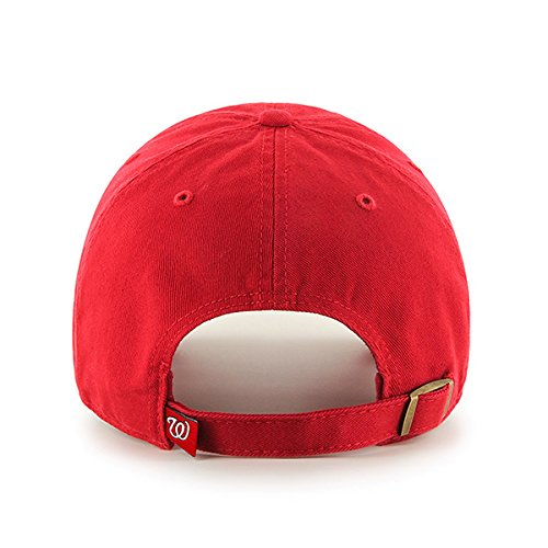 '47 Gorra Washington Brand Rosso adulto Up Clean MLB béisbol de Unisex Nationals qffHnWrF