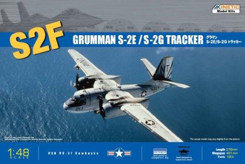 - Kinetic 1/48 S2F/E/G Tracker Anti-Submarine Aircraft