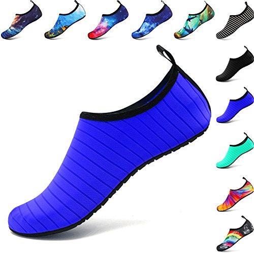 Welltree 1 Nautisme Blue Sports Rapide D'eau Plage Jardin danse Chaussures Aqua Femmes Marcher Conduite Séchage Nager Chaussures Parc Hommes Lac Yoga qrxCqR1p