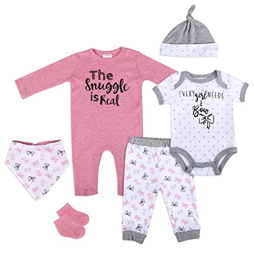 6 pc 'The Snuggle is Real' Newborn Set