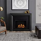 Real Flame 3001E-GRY Hughes Electric Fireplace in Gray