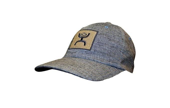 67748ab7651 HOOey Hat -  Low Tide  Patch Flex Fit Cap - Blue at Amazon Men s ...