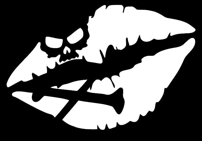 12 X 9.09 Inches Skulls Various sizes Stickers Decal Original Crossbones Skull Tablet Laptop Weatherproof Sp