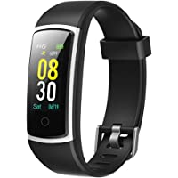 YAMAY Fitness Tracker with Blood Pressure Monitor Heart Rate Monitor Watch,IP68 Waterproof Activity Tracker 14 Modes…