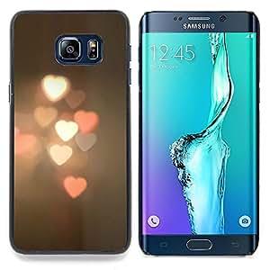 Stuss Case / Funda Carcasa protectora - Borrosa luces de la calle Ciudad de pastel - Samsung Galaxy S6 Edge Plus / S6 Edge+ G928