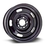rims for 2003 mustang - Steel Rim 15X6, 5X114.3, 70.6, +7, black finish (MULTI APPLICATION FITMENT) X40709
