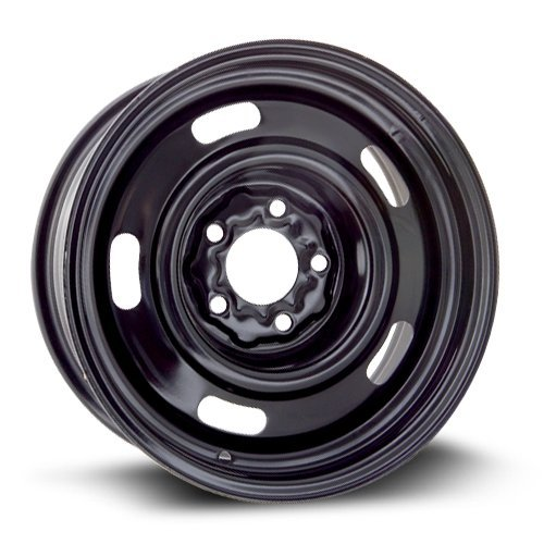 (RTX, Steel Rim, New Aftermarket Wheel, 15X6, 5X114.3, 70.6, 7, black finish X40709)