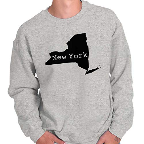 (New York State Shirt State Pride USA T Novelty Gift Ideas Sweatshirt Sport)