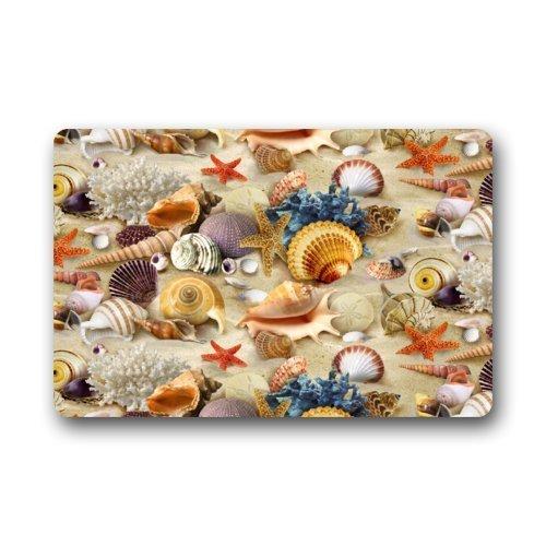 Top-Fabric-Non-Slip-Rubber-IndoorOutdoor-Doormat-Door-Mats-Rich-and-Colorful-Underwater-World-Sea-Animal-Starfish-Seashells-Art-Pattern-Floor-Mat-Rug-for-HomeOfficeBedroom