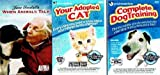 Pets Training Bundle (3-DVD Pack): Complete Dog Training (2005) / When Animals Talk (2008) / Your Adopted Cat (2006) (Total 3 hrs 49 min)