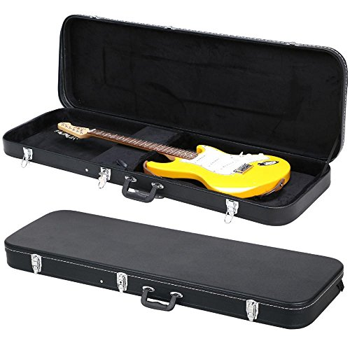Yaheetech Electric Bass Guitar Hard Case Black ()