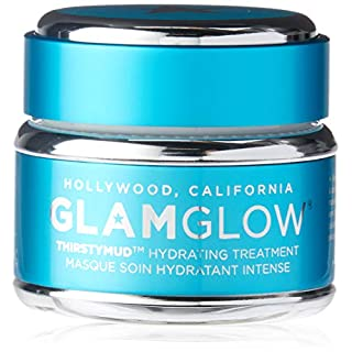 GlamGlow Facial Treatment Cream, Thirsty Mud Teal, 1.7 Ounce