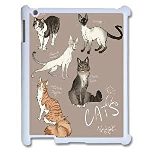 Best Phone case At MengHaiXin Store Grumpy Cat,Because Cats Pattern 312 For Ipad 2/3/4 Case
