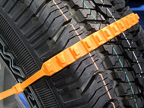 Zip Grip Go Cleated Tire Traction Aid For Snow Ice