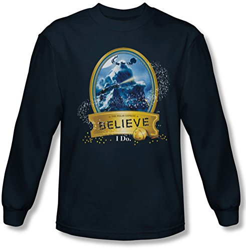 Polar Express - Mens True Believer Longsleeve T-Shirt,