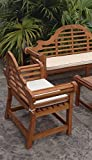 CHIC TEAK Cushion for Lutyens Double Bench - Only