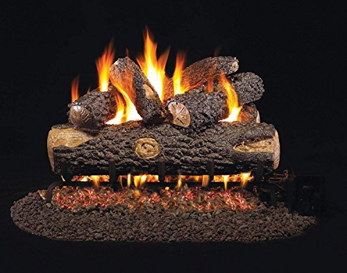 RealFyre Woodland Oak Vented Gas Logs (WO-30), 30-Inch ()