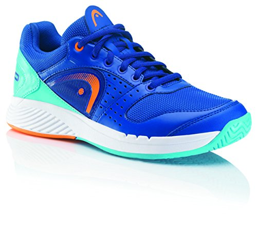 HEAD Sprint Team BLSO - Zapatillas De Deporte Para Exterior de material sintético Unisex adulto azul - Blau (Blue/Shocking Orange Blso)