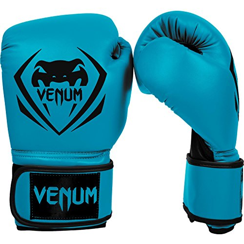 Venum Contender Boxing Gloves - Blue - 14-Ounce