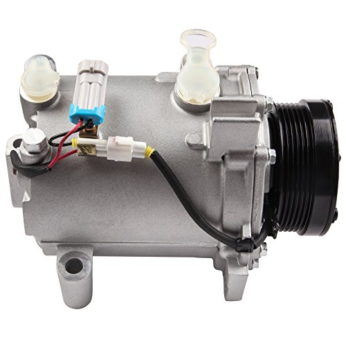 ECCPP A/C Compressor Fits 2000-2005 Cadillac DeVille 98-04 Seville 2001-2003 Oldsmobile Aurora