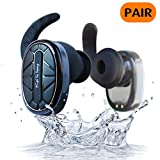 Kailuhong Wireless Earbuds T101 Dual Bluetooth Earbuds Stereo Bluetooth Headset V4.1 Earphones with Built-in Mic and Charging Case for iPhone& Android Phones (IPX 7 WATERPROOF & SWEATPROOF)