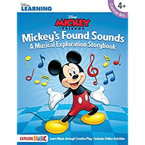 Mickey's Found Sounds: A Musical Exploration Storybook Disney Learning (Disney Learning: Disney Mickey & Friends)