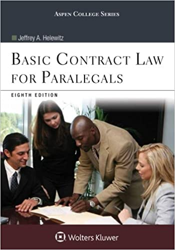 Basic contract law for paralegals aspen college jeffrey a basic contract law for paralegals aspen college 8th edition fandeluxe Image collections