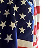 Veteran Appreciation US Flags – 5×8 Feet Spun Polyester American Flag Review