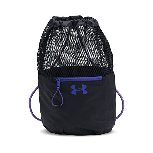 Girl's Under Armour Girls' Bucket Bag,Black (001)/Penta Pink, One Size