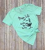 Mom Life got me feelin like Hei Hei Funny Womens Casual Short Sleeve Summer Graphic T-shirt with saying