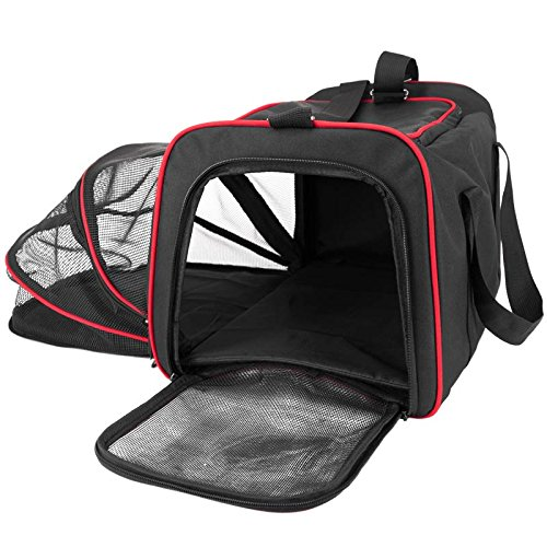 with Soft-sided Cat Carrier design