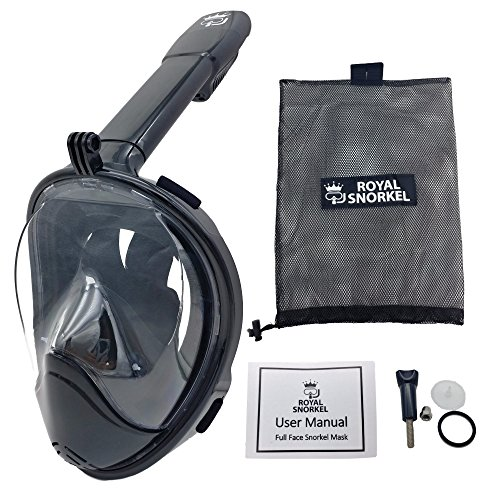 a2a5a0c2a856 Jual New 3rd Gen Full Face Snorkel Mask - Longer Breathing Tube ...
