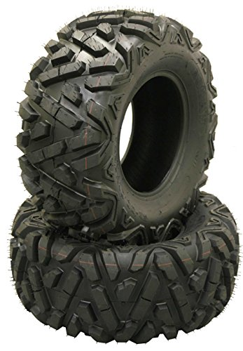 2 WANDA ATV/UTV Tires 25x12-9 305/65-9 /6PR P350 John Deer Gator ... (Atv Tires 25x12x9)